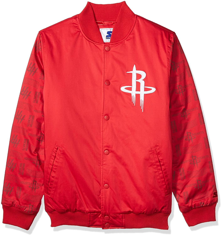 STARTER Adult Men NBA Varsity Bomber Jacket