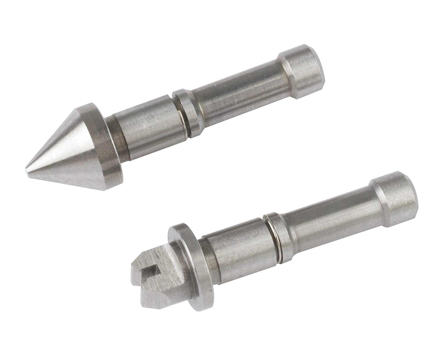 Mitutoyo 126-804, Anvil/Spindle Screw Thread Micrometer Tip Set, 60 Deg. Threads, 9-13 TPI/2-3mm