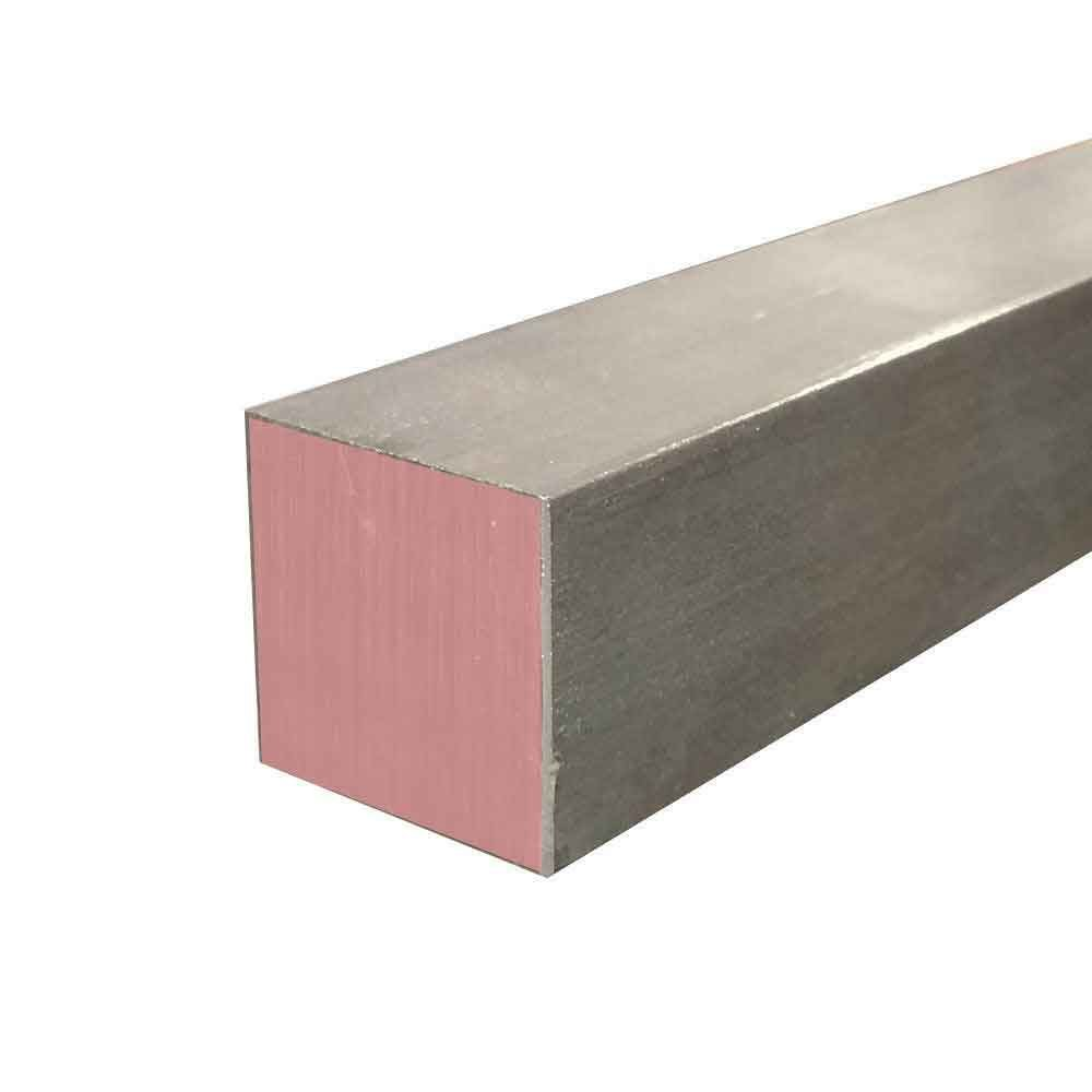 Online Metal Supply 303 Stainless Steel Square Bar, 2-1/2