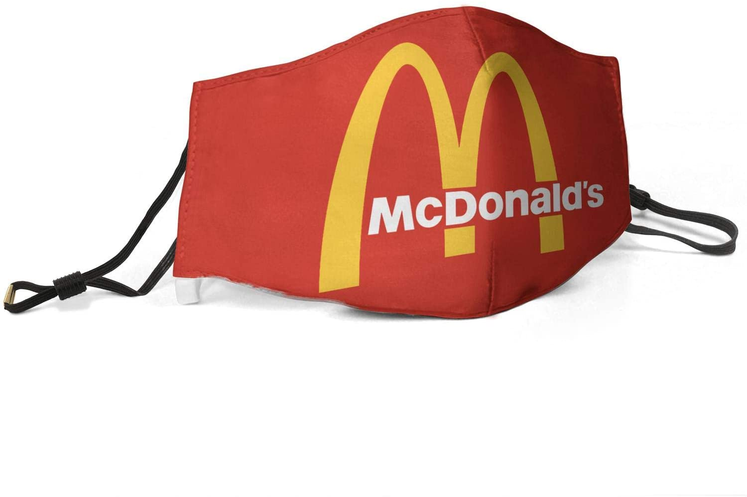 Topstankcc Anti-dust Cover Anti-Haze Mouth Cover Mc-Donalds-Logos-Emblem- Wash Reusable Dustproof Cover