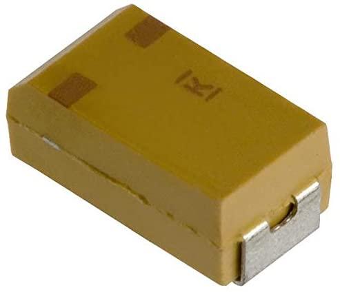 KEMET T496C106M020ATE2K0 TANTALUM CAPACITOR, 10UF, 20V, 2 OHM, 0.2, 6032-28 (1 piece)