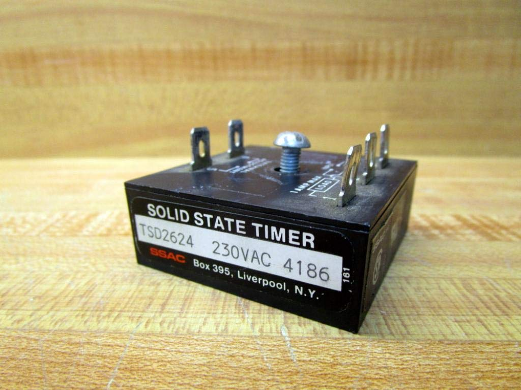 SSAC TSD2624 Solid State Timer