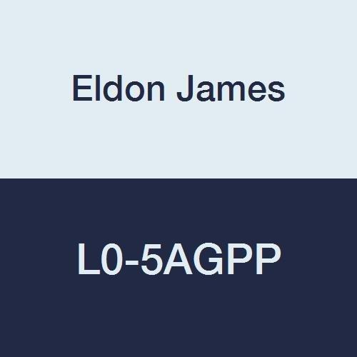 Eldon James L0-5AGPP Antimicrobial Natural Non-Animal Derived Polypropylene Equal 90 Degree Elbow, 5/16