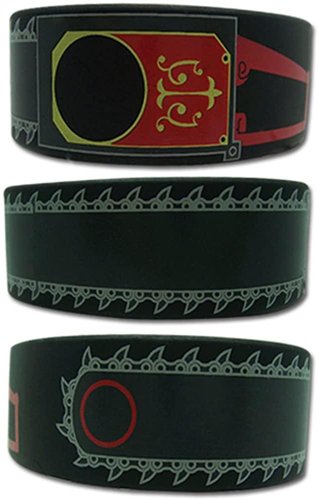Black Butler Men's Grells Chainsaw Anime Wristband