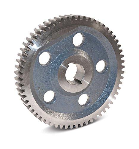 Boston Gear GA115B Web with Lightening Holes Change Gear, 14.5 Degree Pressure Angle, 20 Pitch, 0.625 Bore, 115 Teeth, Cast Iron