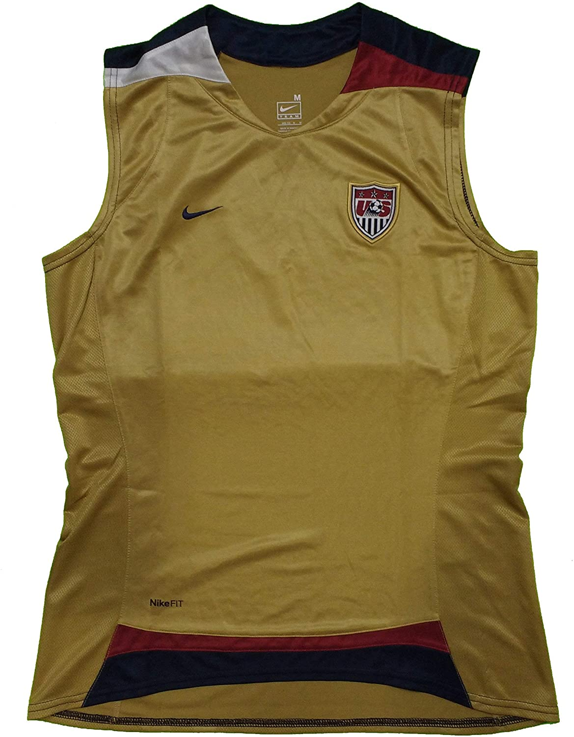 US Womens Gold Game Day Jersey