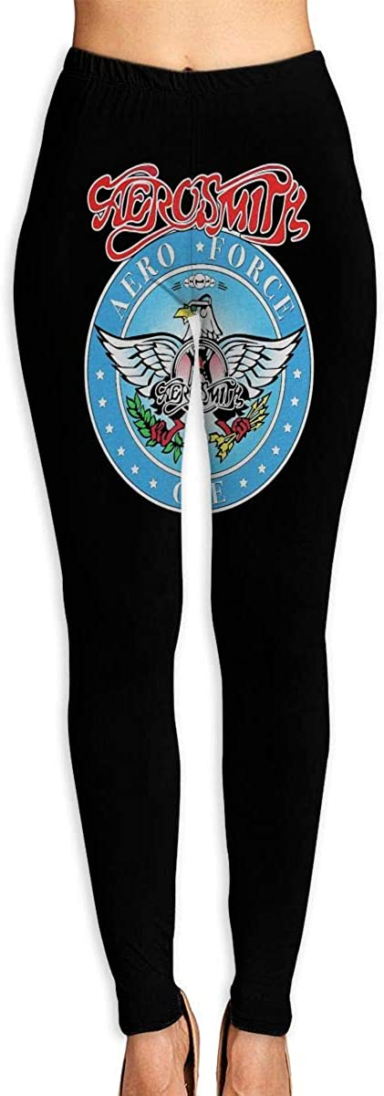 1743 Women's Yoga Pants Waynes World Aerosmith High Waist Workout Leggings Running Pants