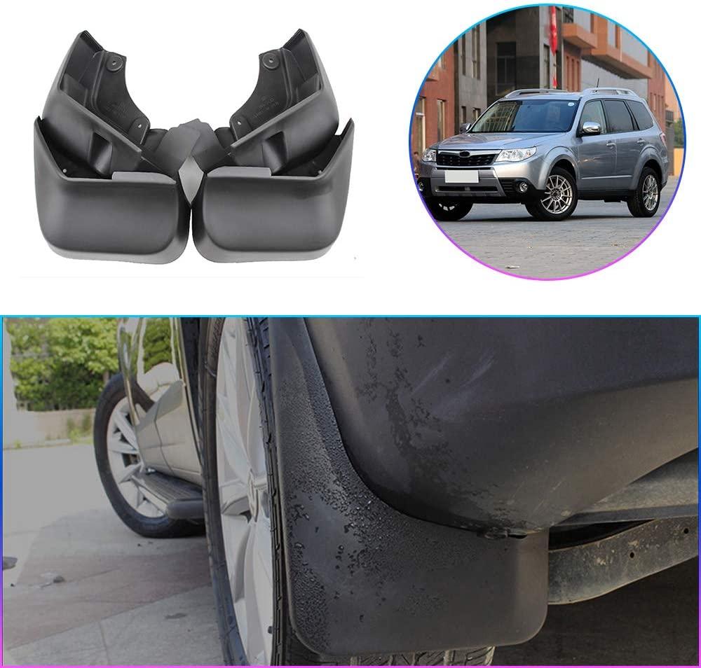 Maiqiken Car Custom Mud Flaps Splash Guards for Subaru Forester 2005-2013, 2014-2019 Auto Mud Guards Automotive Splash Guards Mudguards Mudflaps Fender Front & Rear Wheel 4Pcs