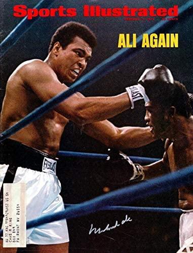 Muhammad Ali Autographed Sports Illustrated Magazine Vintage #I04443 - PSA/DNA Certified - Autographed Boxing Magazines