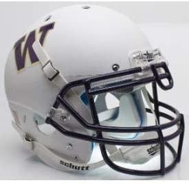 Unsigned Washington Huskies White Schutt Full Size Authentic Helmet Stock #137996 - College Replica Helmets