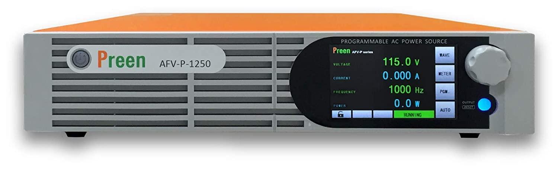 Preen Programmable AC Power Source 1250VA 1000W 0-310VAC 15-1000Hz