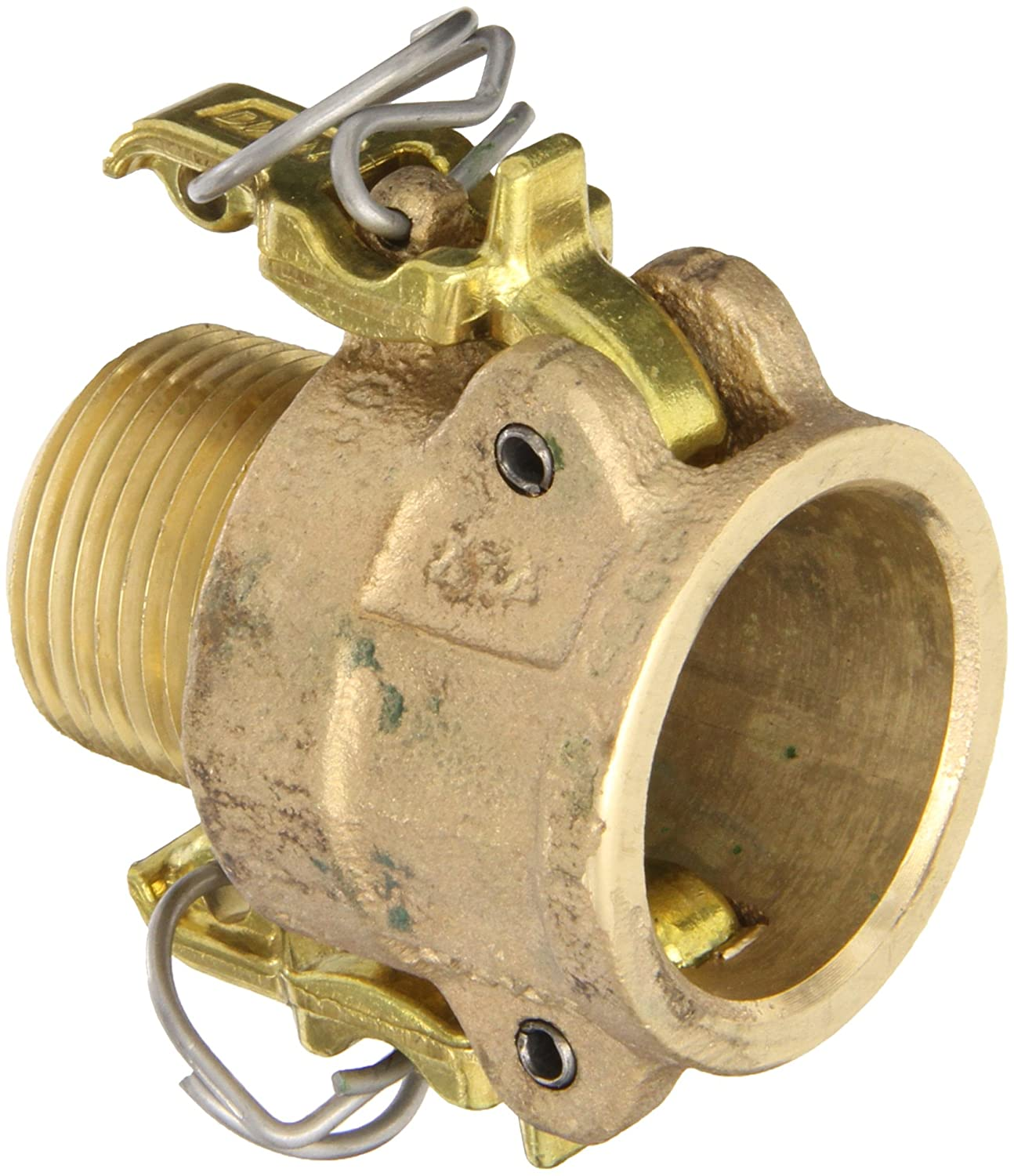 Dixon Valve BB100 Brass Boss-Lock Type B Cam and Groove Fitting, 1