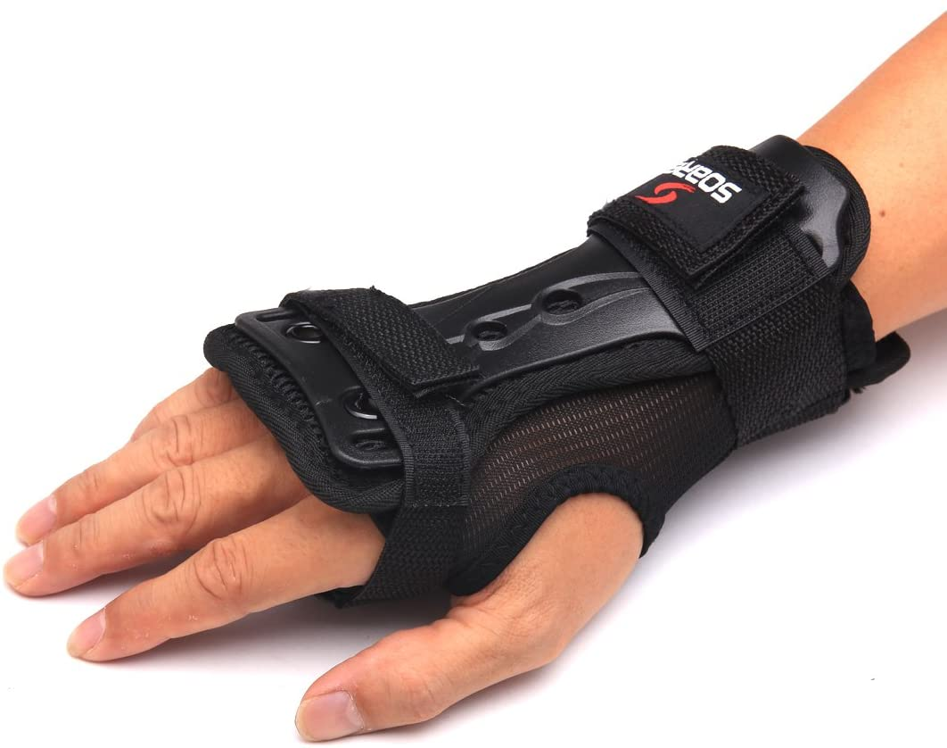 Andux Ski Gloves Wrist Guards Size (Width of Palm): 7-8cm