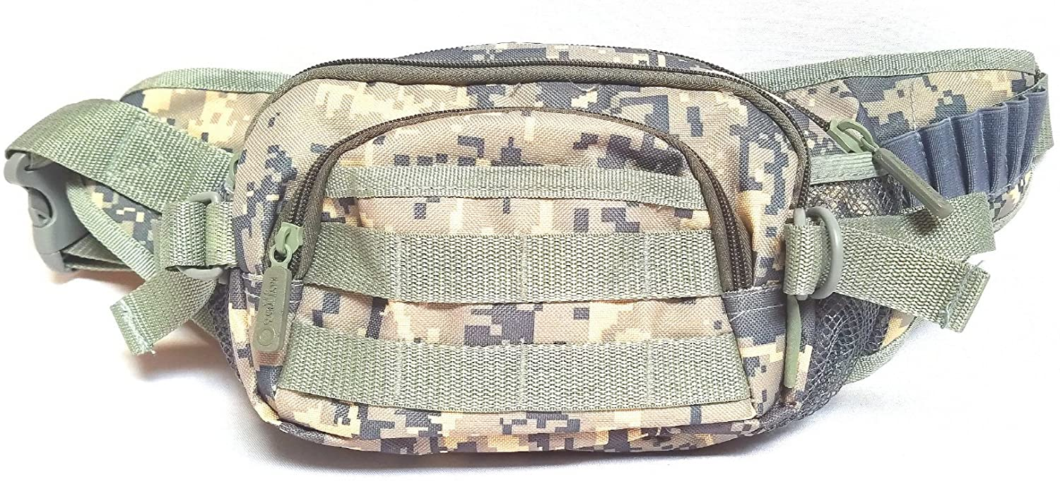 East West U.S.A FC102 Tactical Military Digital Camouflage Fanny Pack