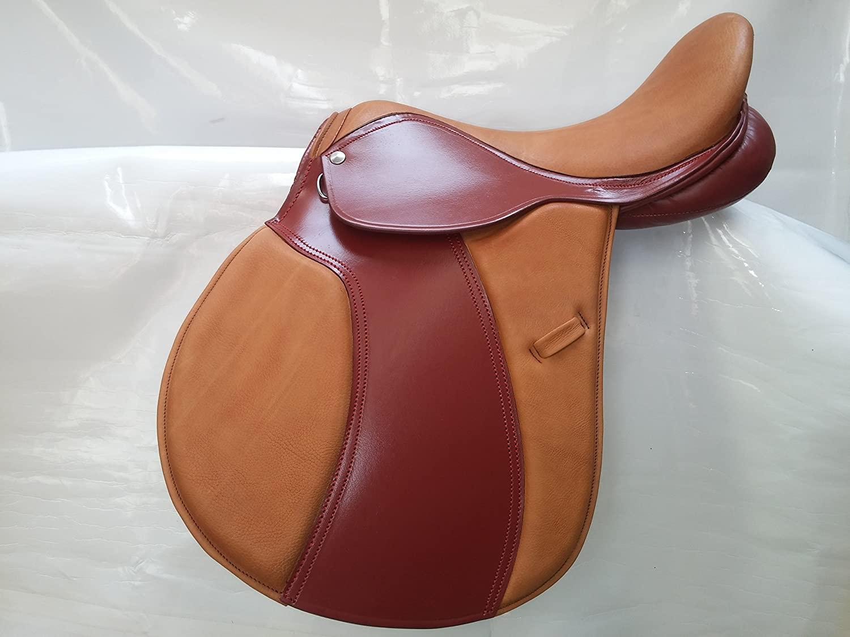 All Purpose Saddle with Adjustable Knee Bllocker