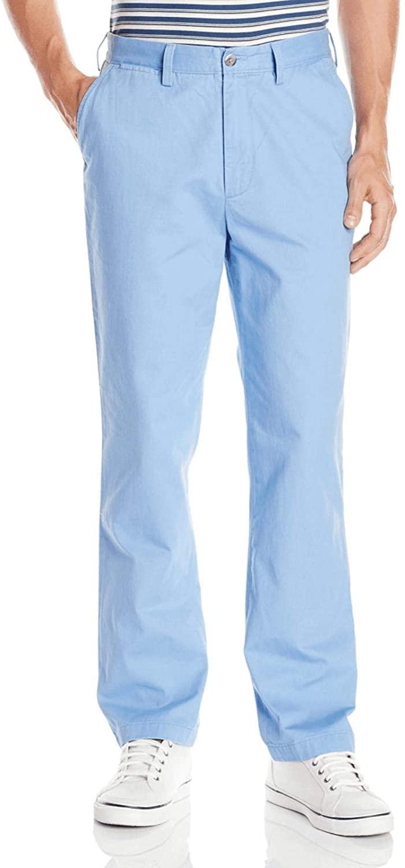 Nautica Men's Dellaro Blue Classic Fit The Deck Pant Pants