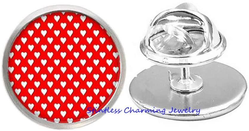 stintless charming Jewelry Polka Dot Brooch, Every Day wear Brooch, Spots, Friendship Brooch, Cute and Simple Brooch-JV210