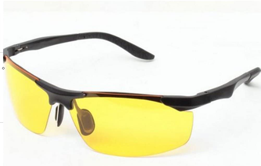 Night-vision goggles, the driver drove special anti-glare driving mirror, night brightening glasses, day and night glasses.