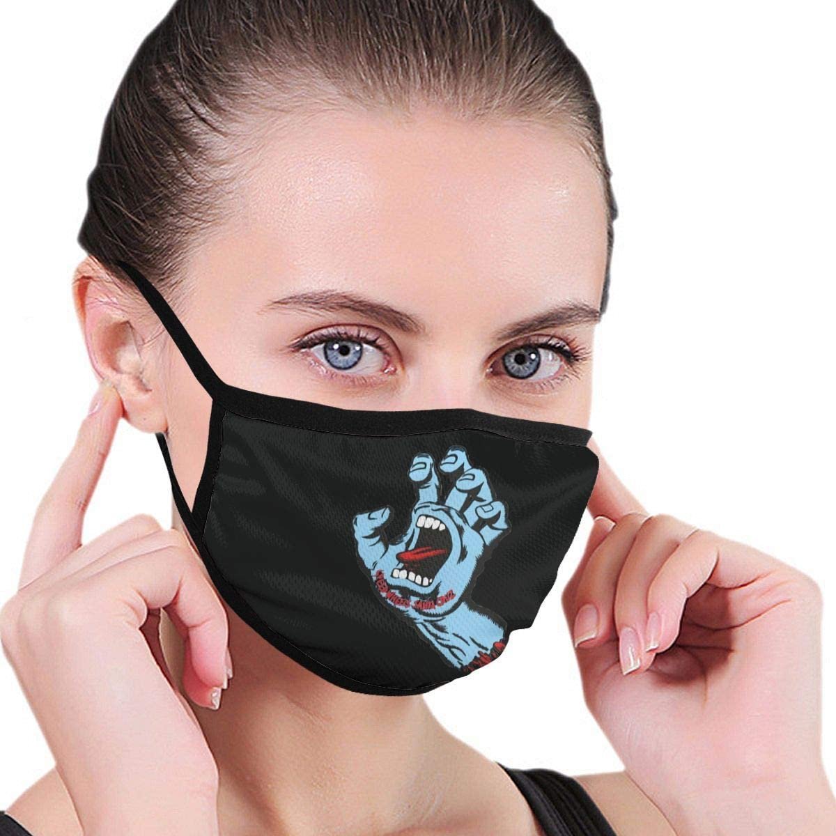 Zhengyu Santa Cruz Face Mouth Protect Comfy Breathable Safety Air Fog Outdoor Fashion Half Face Face Protections - for Man and Woman