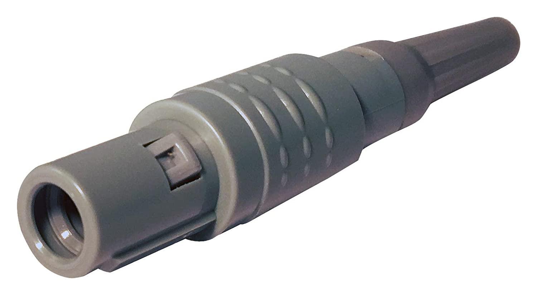 Circular Connector, Quiklok Plastic 8P1P Series, Cable Mount Plug, 14 Contacts, Solder Pin