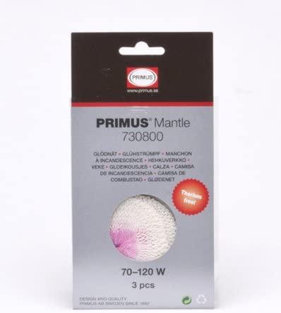 Primus 3 pk., Thorium-Free Lantern Mantles, Micron, EasyLight, Tor Jr. P-730800