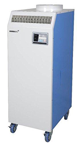 AIRREX AHSC-18 1.5 Tons Portable Heat Pump, 16,800 BTU, 600 SQ/FT Coverage, 115V, Blue/White