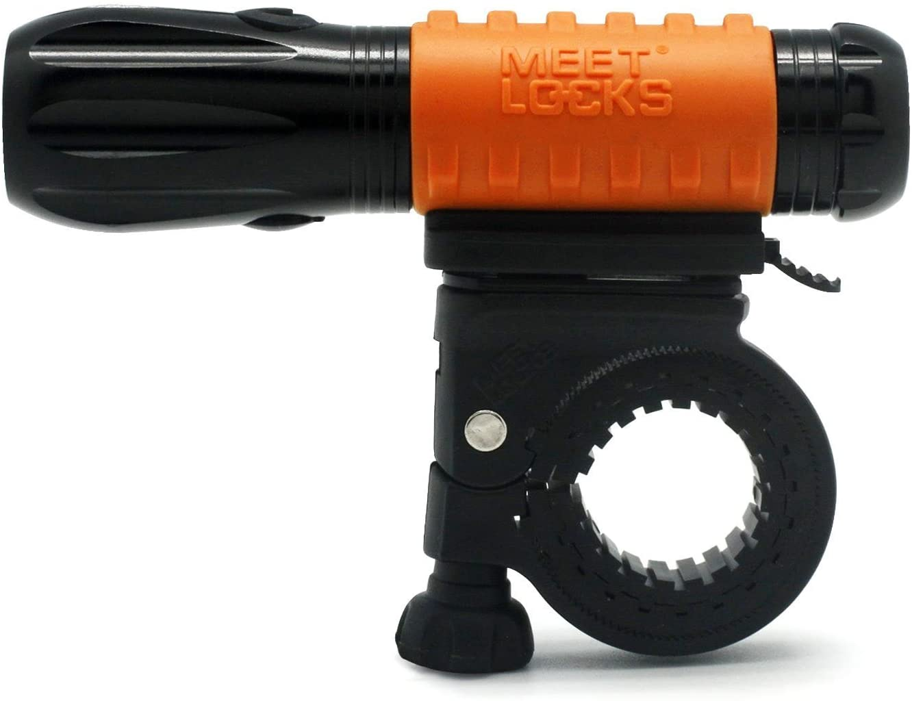 MEETLOCKS Super Bright USB Rechargeable Bike Torch, High Intensity Cree Q3 LED and USB