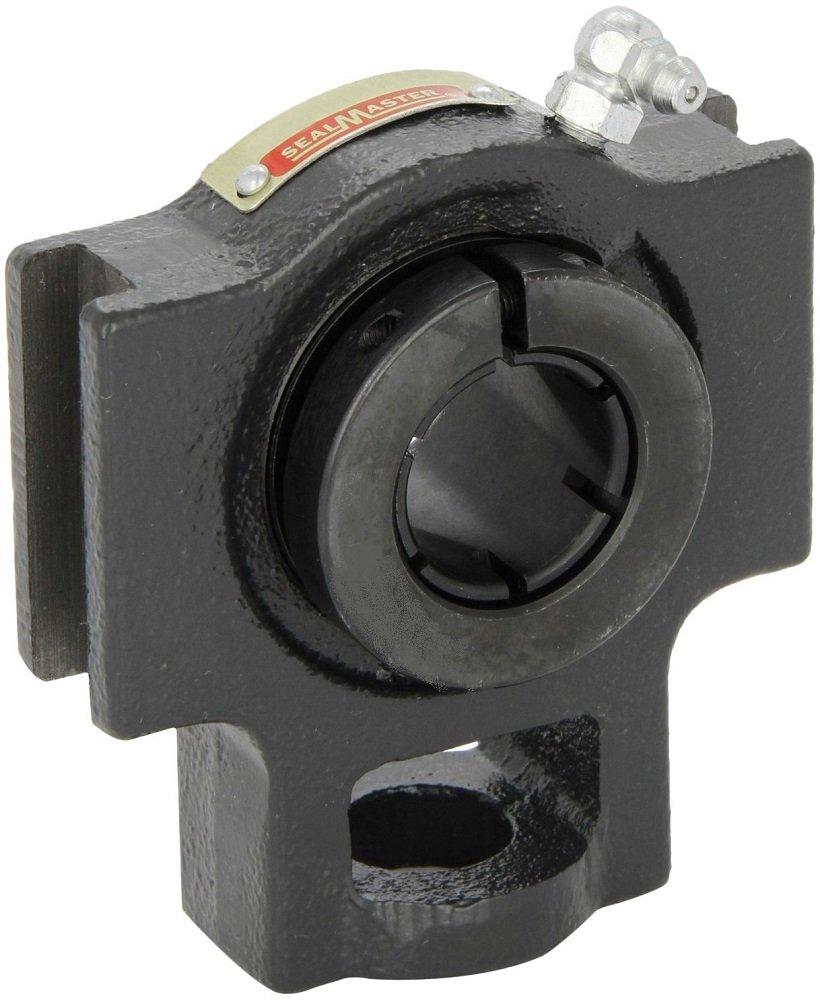 Sealmaster MST-24TC Take-Up Unit, Medium Duty, Regreasable, Skwezloc Collar, Contact Seals, Cast Iron Housing, 1-1/2