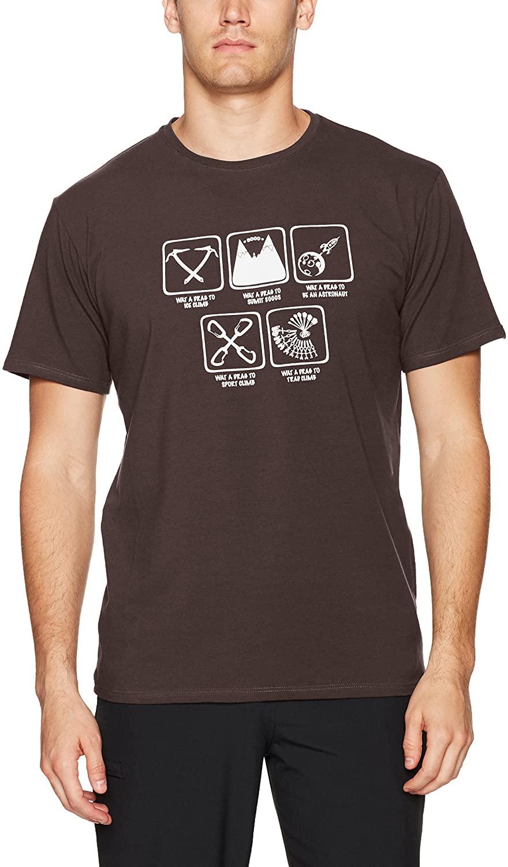 Charko Designs Men's TS Nebraska Rock Climbing T - Shirt