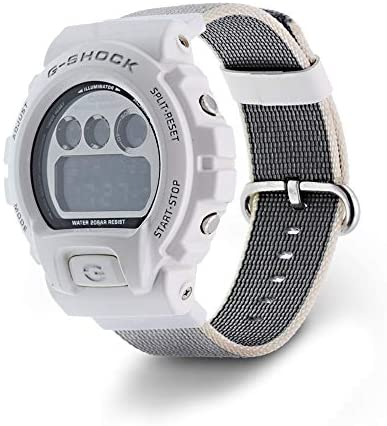 DuiGong Woven Nylon Strap for Casio G-Shock,DW-5300 DW-6000 DW-6200 DW-6600 DW-6695 DW-6900 DW-8700 G-6900 GW-6900 DW-5300 DW-6000 DW-6200 DW-6600 DW-6695 DW-6900 DW-8700 G-6900 GW-6900 Models.