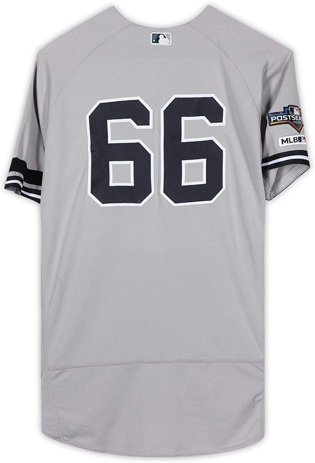 Kyle Higashioka New York Yankees Game-Used #66 Gray Jersey vs. Texas Rangers on September 28, 2019 - Size 44 - Fanatics Authentic Certified