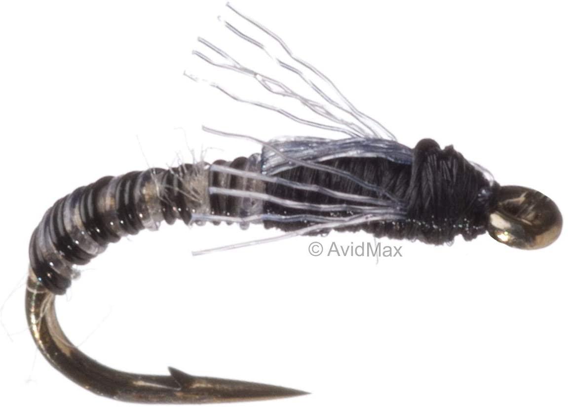 Umpqua Craven's Jujubee Midge Zebra Fly Fishing Midges & Emergers Multi-Packs