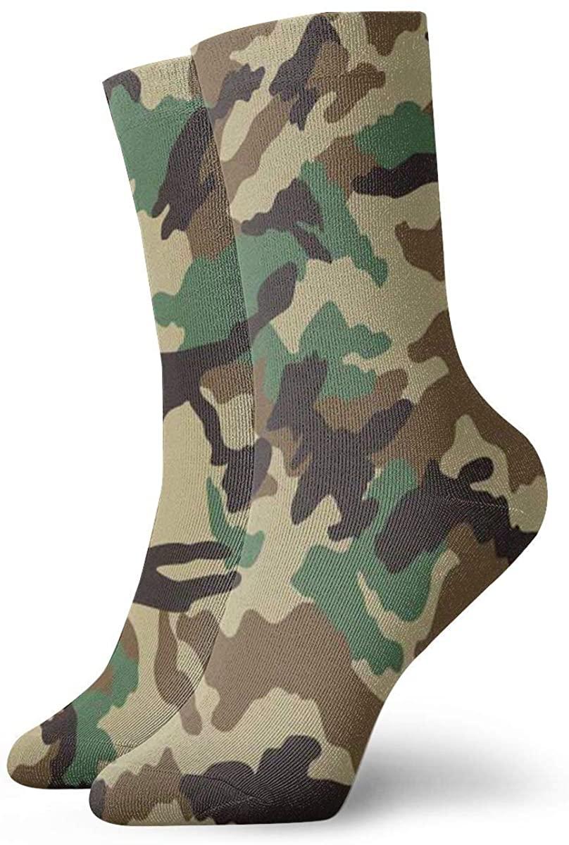 Game Life Crew Socks Camouflage Men Women Sock Casual Socks