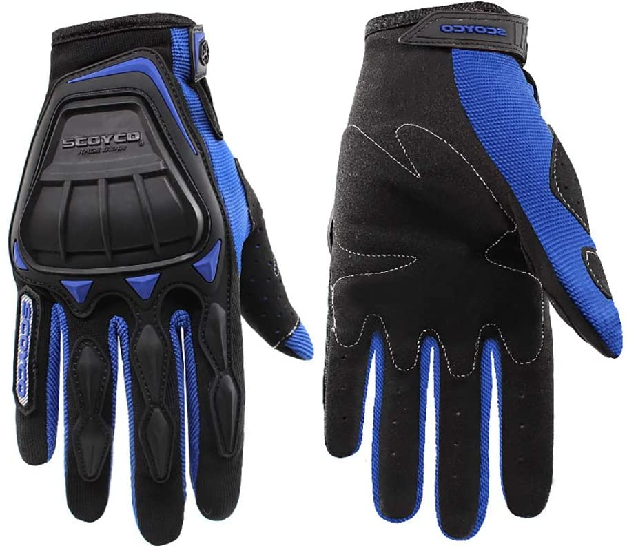 Yooan Outdoor Motorcycle Riding Gloves Full Finger Cycling Gloves for Outdoor Sports