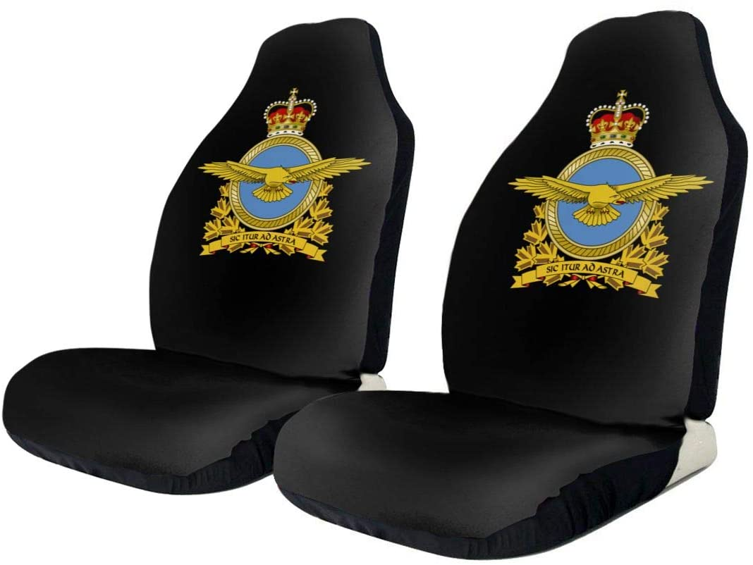 KEEDCE&FJE Royal Canadian Air Force Badge Universal Car Seat Cover Car Seat Covers Protector for Automobile Truck SUV Vehicle
