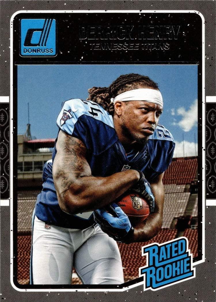2016 Panini Donruss Football #365 Derrick Henry Rookie Card Titans