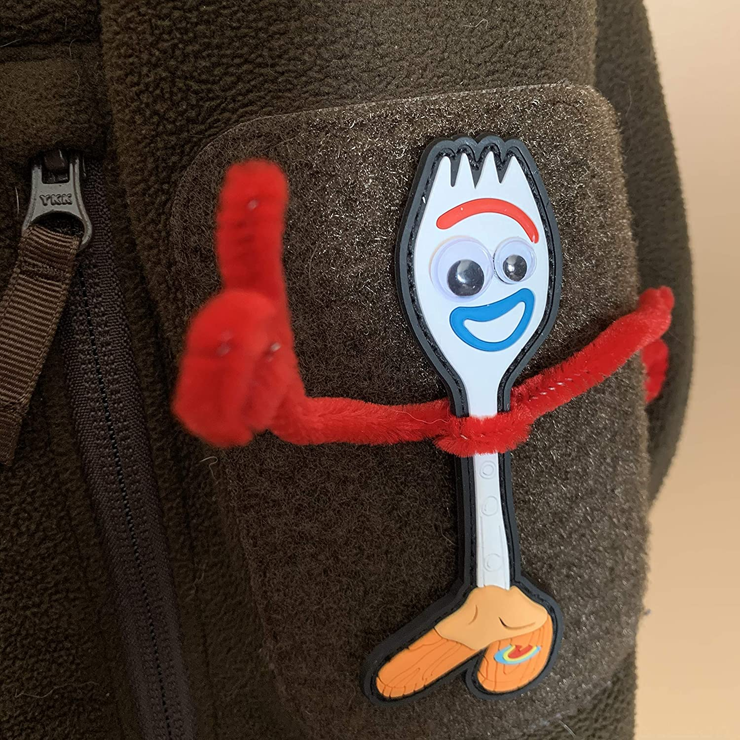 American Sheepdog Toy Story Forky Patch