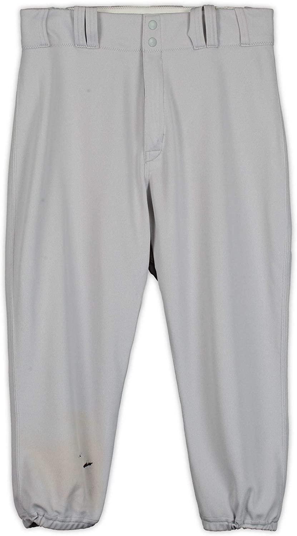 Greg Bird New York Yankees Game-Used Gray Pants from the 2017 MLB Postseason - JC009899 - Fanatics Authentic Certified