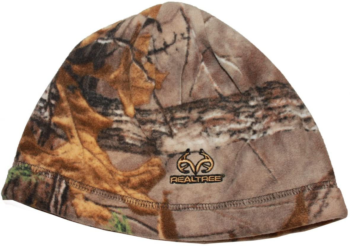 Realtree Xtra Reversible Camo To Orange Beanie Men's One Size