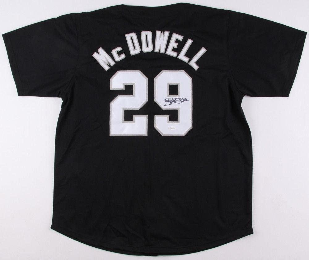 Jack McDowell Signed Jersey - Custom) - Coa! - JSA Certified - Autographed MLB Jerseys