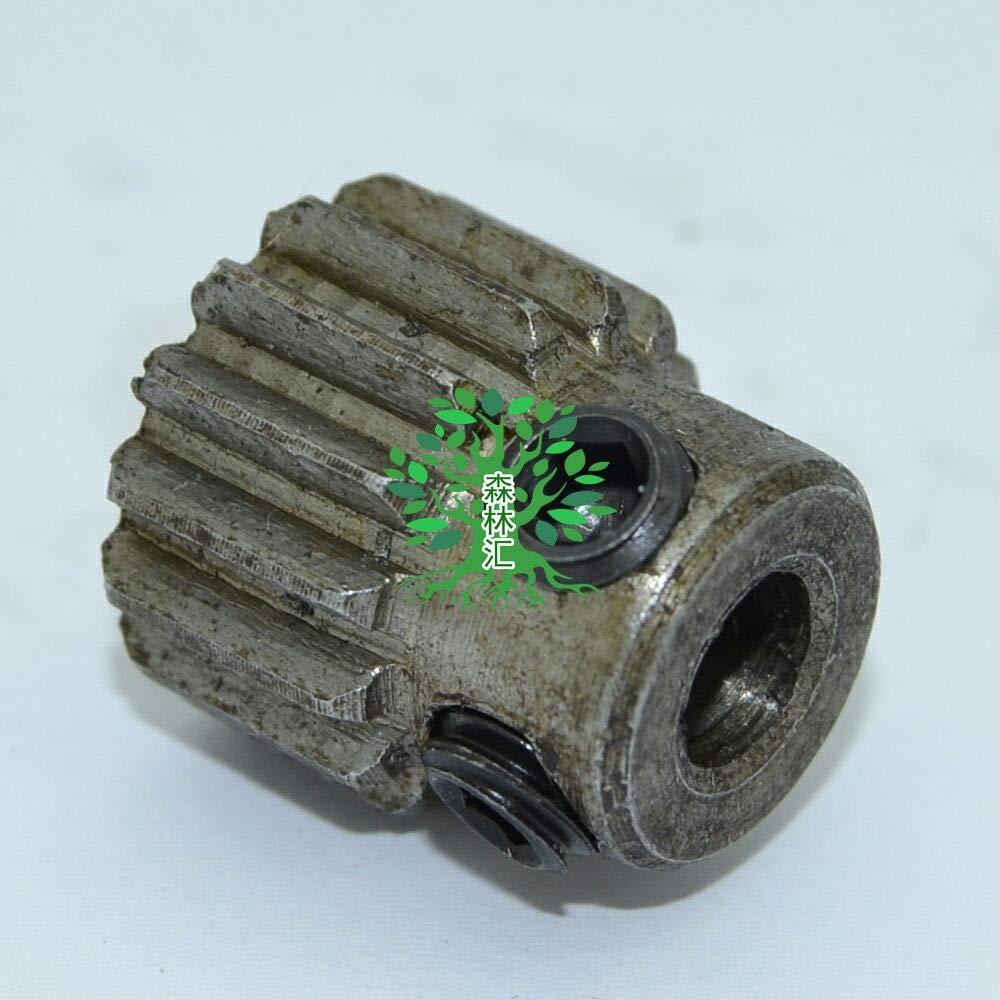 Fevas 2pcs 1M15T 1M15 Bore: 6MM 15 Teeth 1M Module Spur Gear for Motor