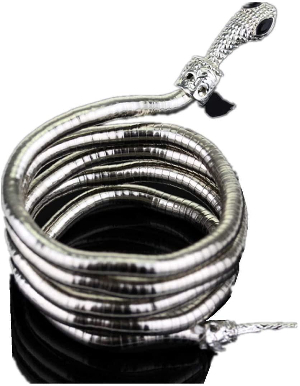 micrkrowen Freedom Folding Snake Bracelet (Silver)