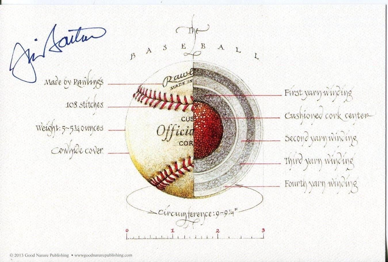 Jim Bouton New York Yankees Seattle Pilots Signed Autograph Knuckleball Print - Autographed MLB Art