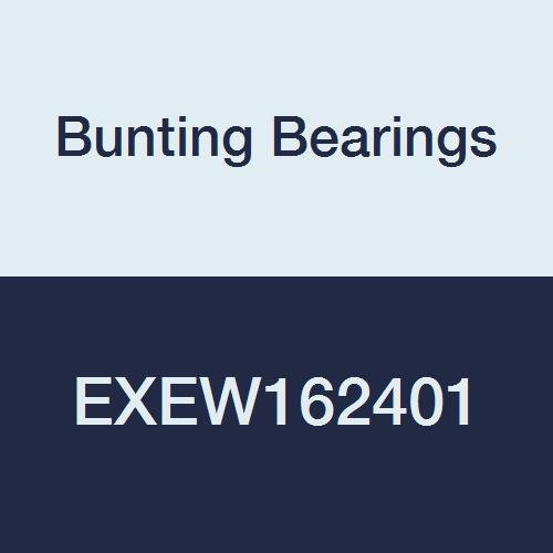 Bunting Bearings EXEW162401 Extra Lubricant with PTFE Thrust Washer, Powdered Metal, SAE 841, 1