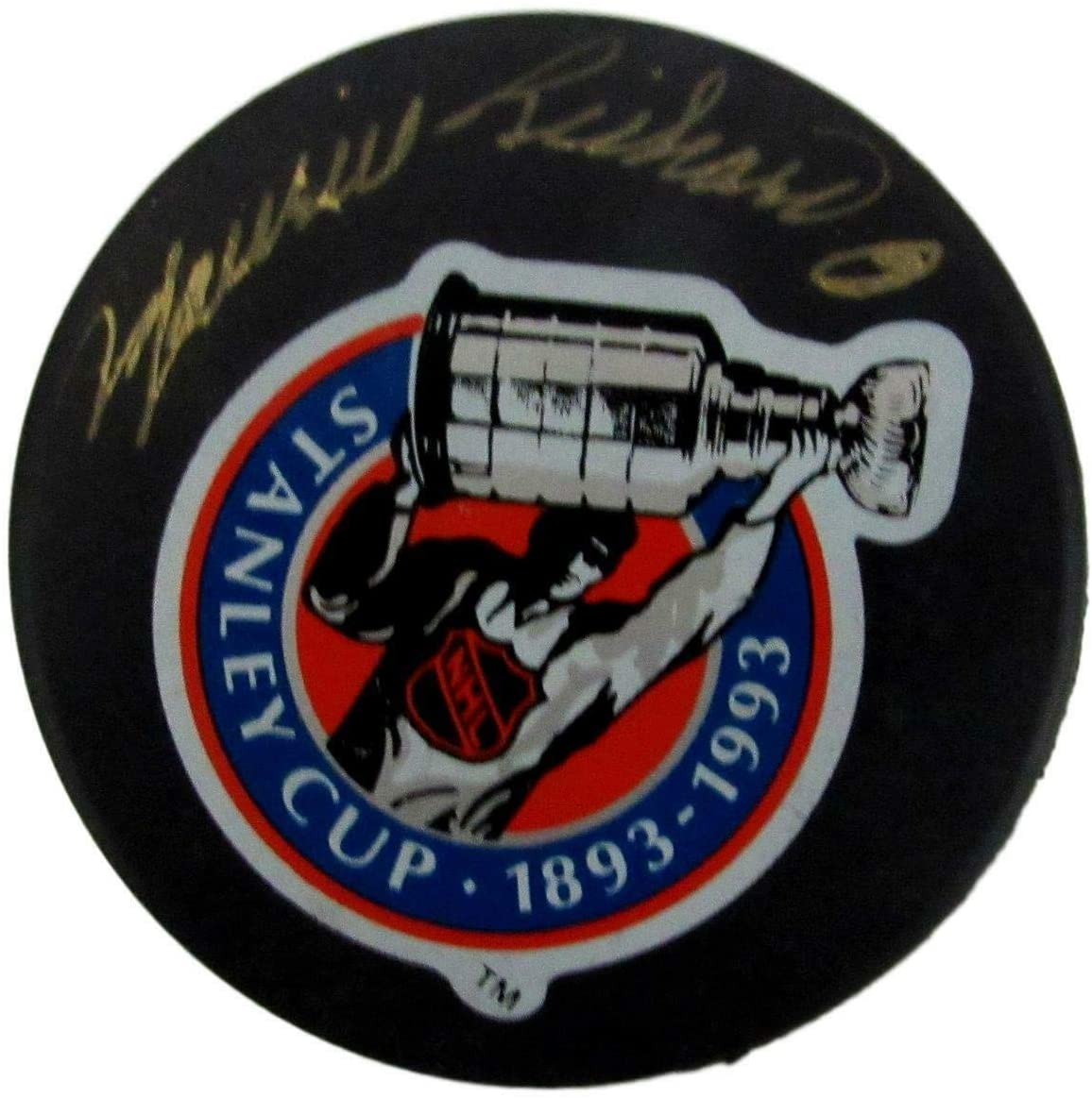 Autographed Maurice Richard Puck - 147771 - PSA/DNA Certified - Autographed NHL Pucks
