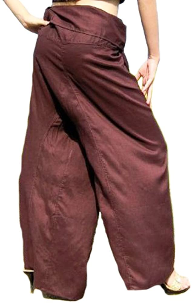 (RAYON Cotton) 1 Fisherman Pants Trousers Yoga Pants...FREE SIZE