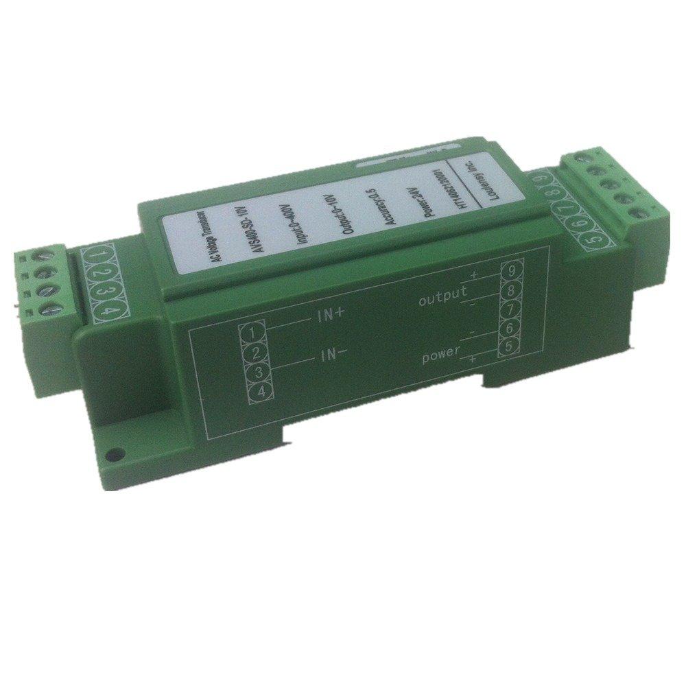 DC Voltage Transducer Voltage Sensor Transmitter Transformer Input 0-900V DC Output 0-20mA DC
