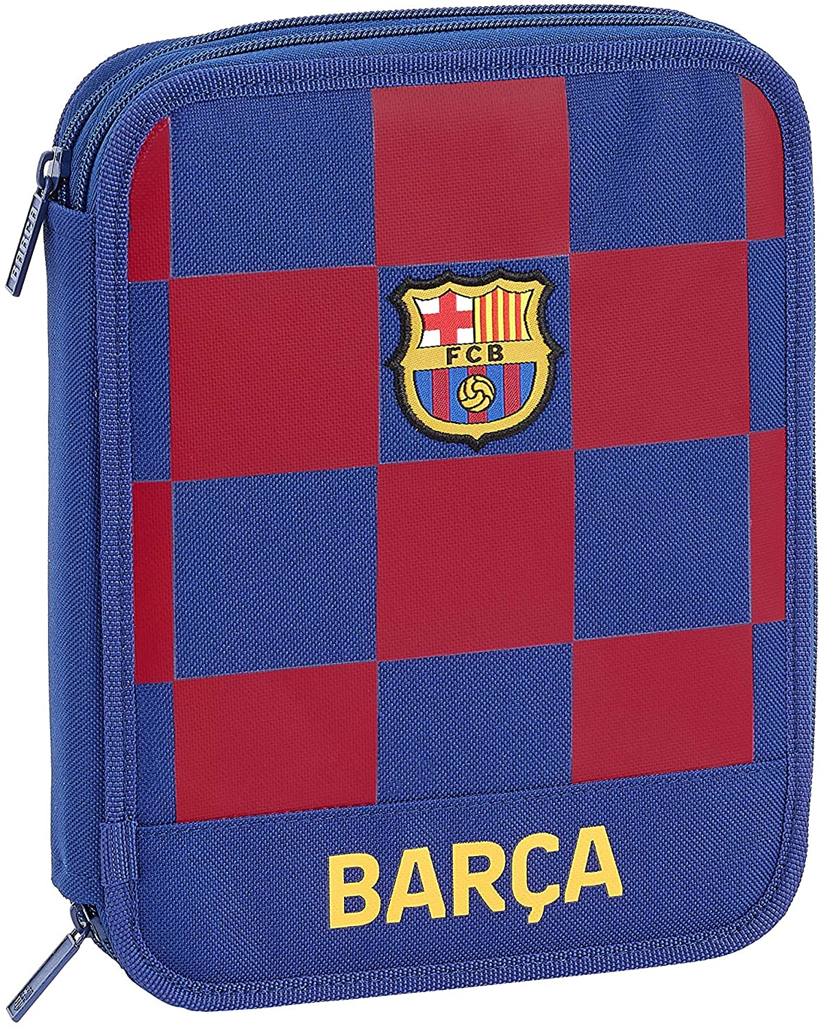 FC Barcelona 1a Equip Pencil Case 19/20 Official, 56 Useful Included, 195 x 248 x 45 mm
