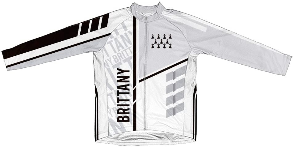 ScudoPro Brittany Winter Thermal Cycling Jersey for Men