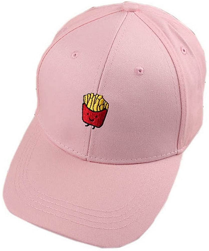 Gentle Meow Fries Sports Caps Fashion Caps Ladies Baseball Caps Women Golf Hats Pink